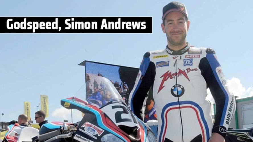 Godspeed, Simon Andrews