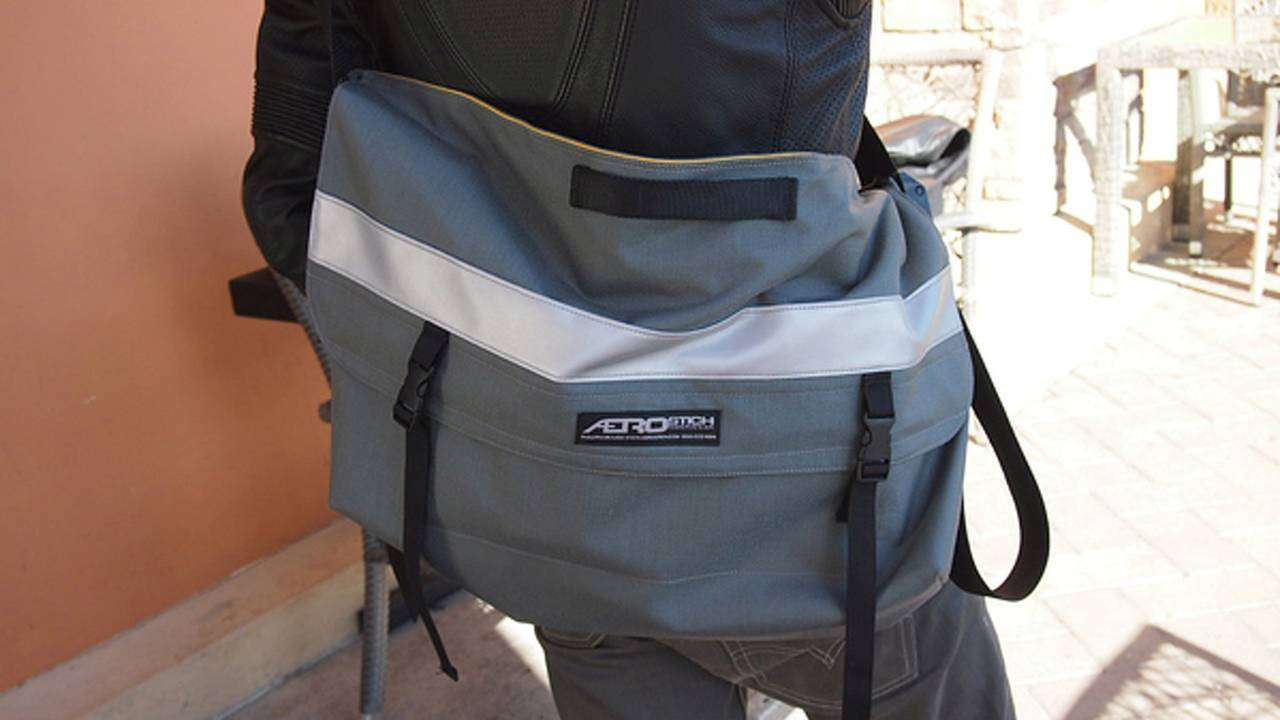 Gear: Aerostich Courier bag and iPad sleeve