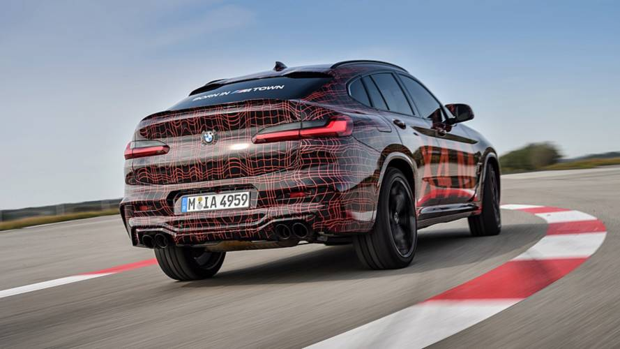 BMW X3 M, X4 M teaser