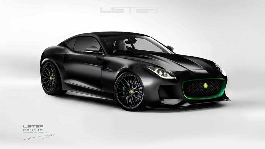 Lister's Jaguar F-Type is a 666-bhp beast