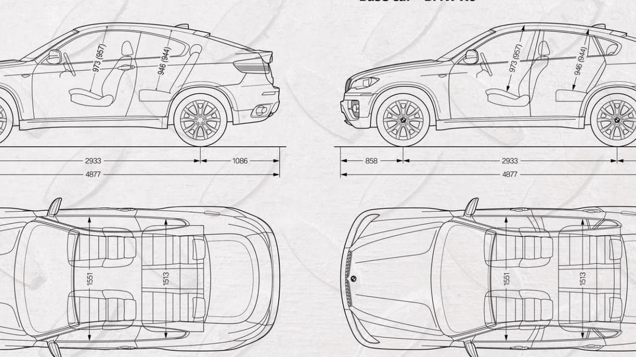 Armortech Motors Group Coupe Based On Bmw X6 Motor1 Com Photos