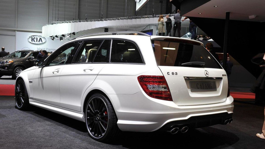 2012 Mercedes C63 AMG debuts in Switzerland
