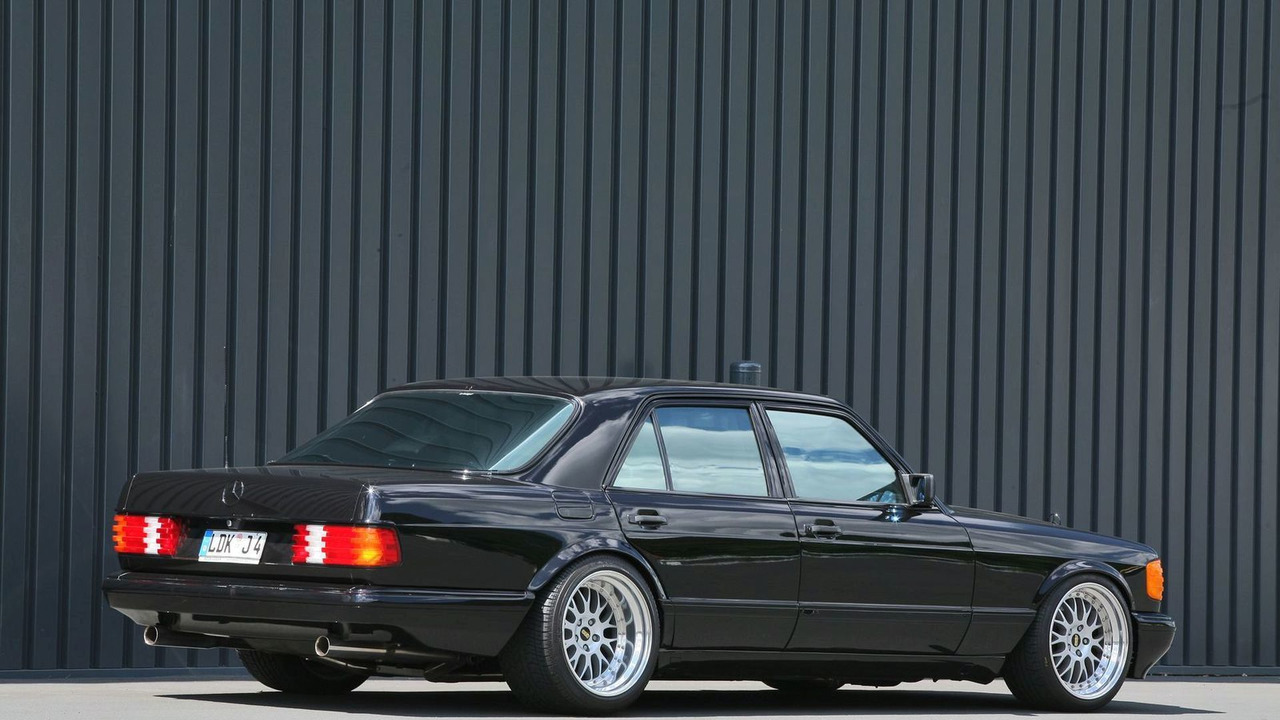 inden design goes old school with 1983 s class w126