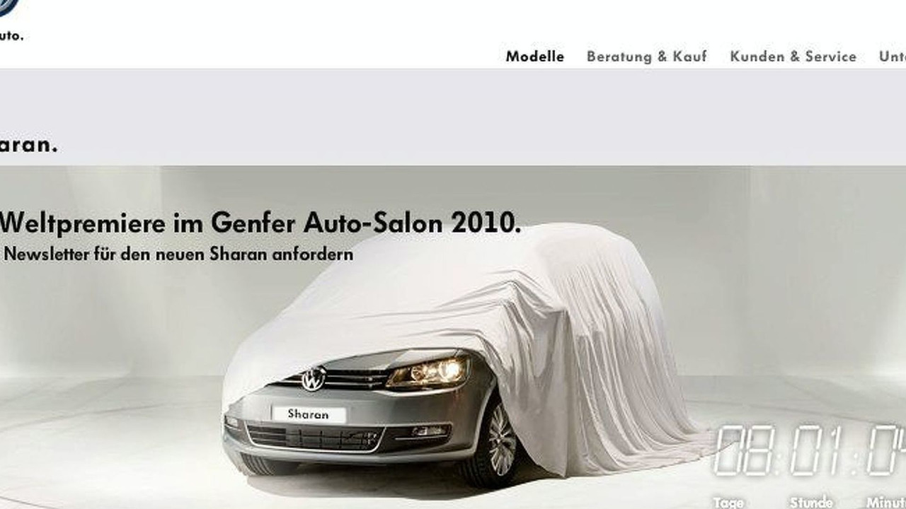 2011 Sharan MPV teaser screenshot for Geneva Motor Show debut - 800 - 22.02.2010