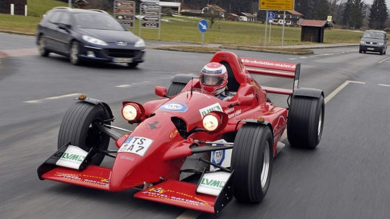 Gallery Street Legal Formula Ford Car In Germany