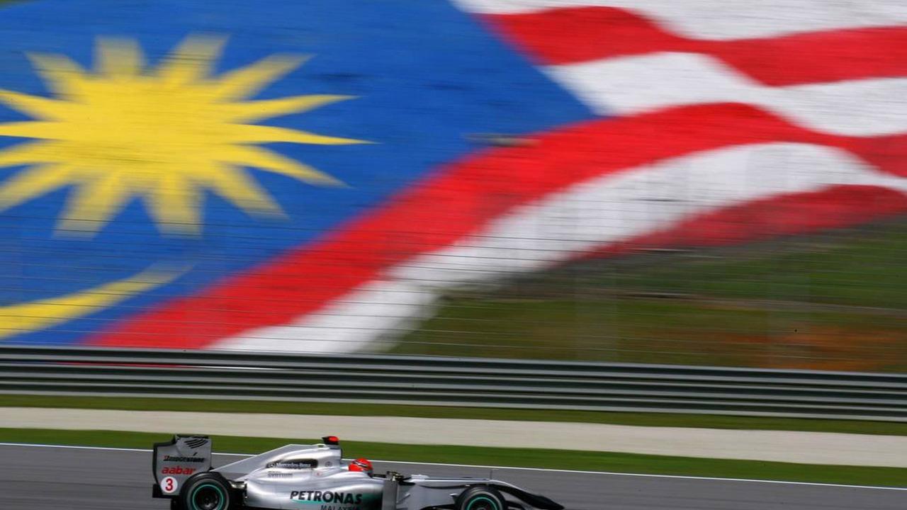 Malaysia, Michael Schumacher (GER), Mercedes GP Petronas, W01 - Formula 1 World Championship, Rd 3, Malaysian Grand Prix