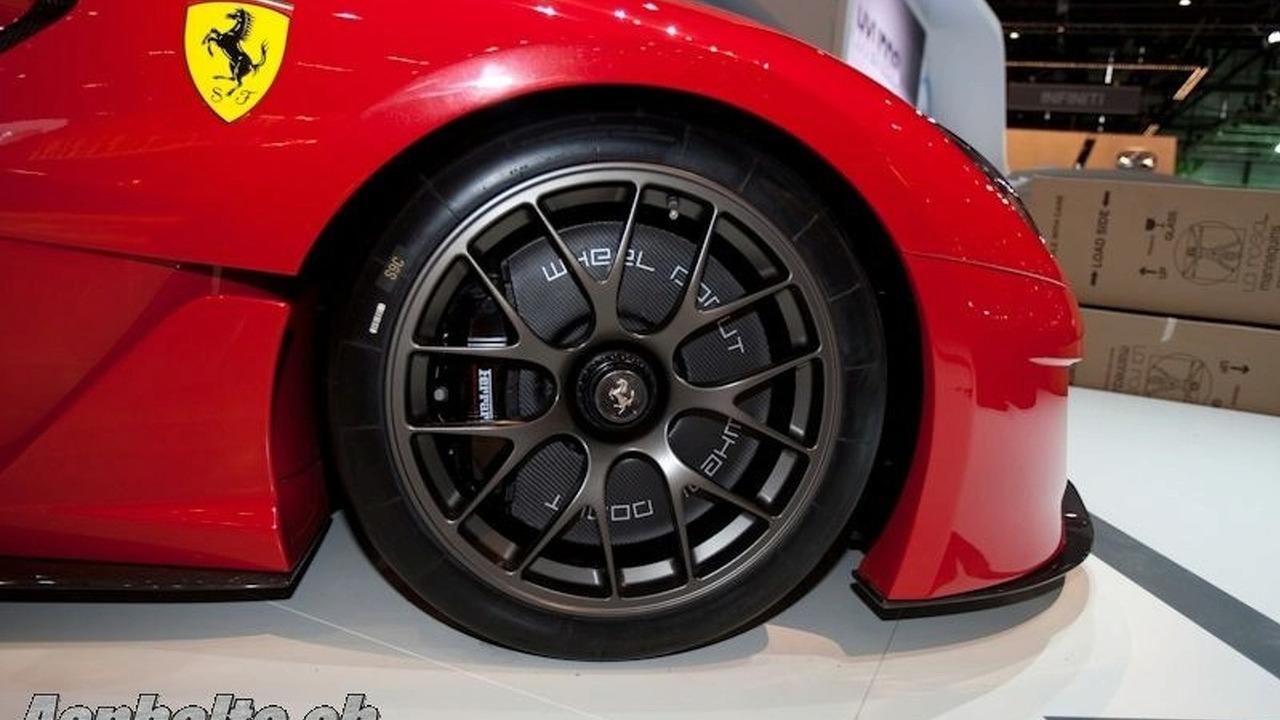 Ferrari 599XX technical study