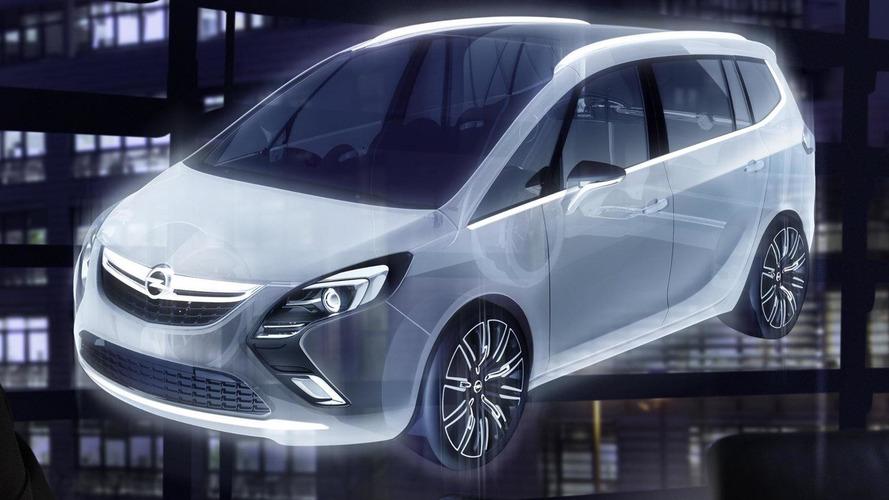 Opel Zafira Tourer Concept teased