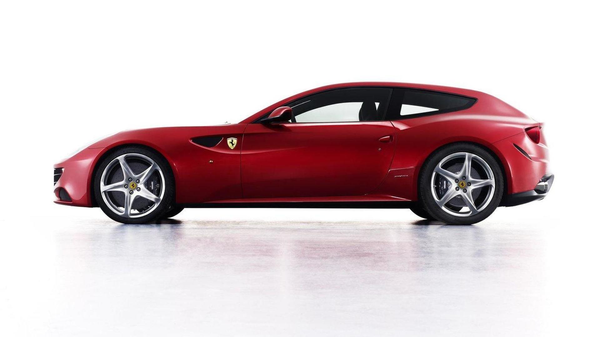 Ferrari Four Ff Concept Prowls The Night Video