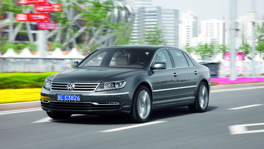 Volkswagen Phaeton successor officially confirmed, BlueSport not happening
