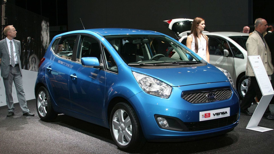 Kia Venga World Debut in Frankfurt [video]