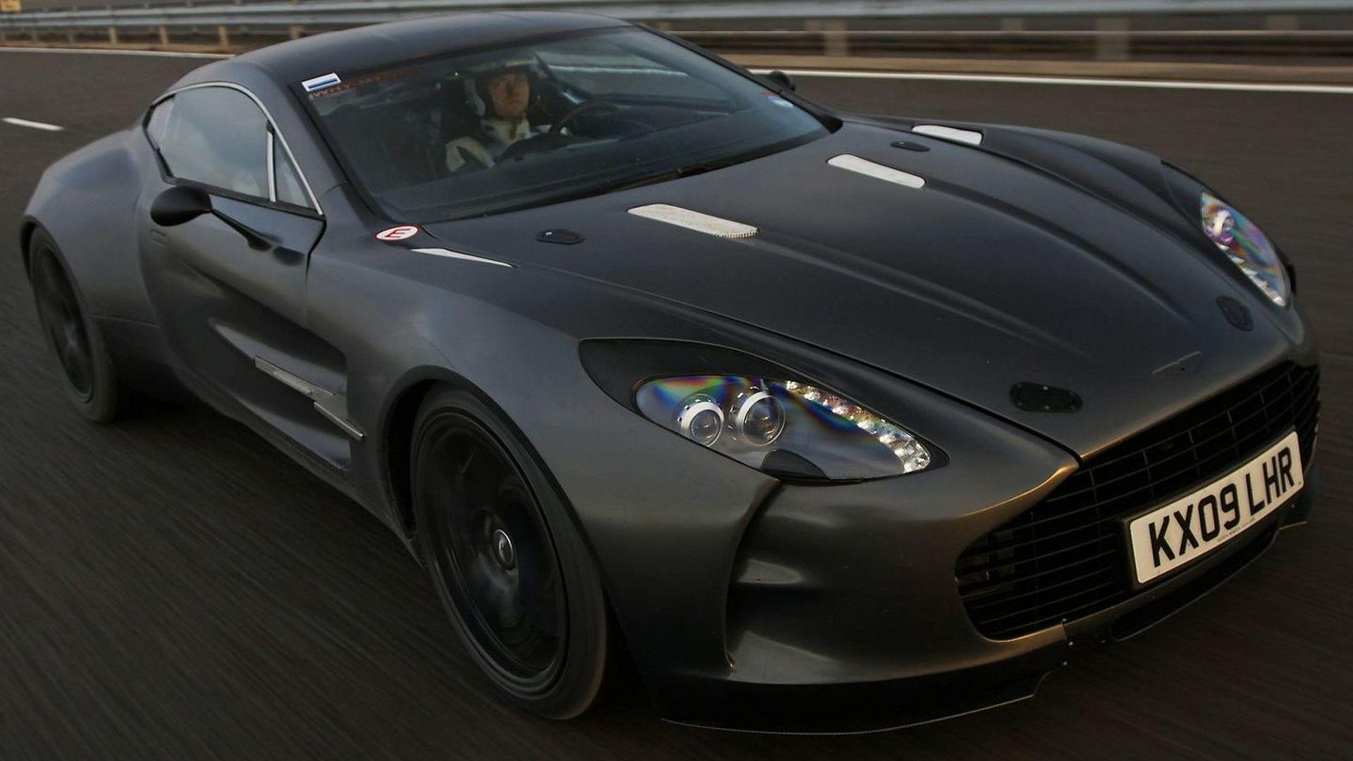 Aston Martin One 77 Testing Video