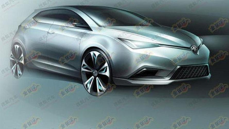 MG5 Concept headed for Auto Shanghai