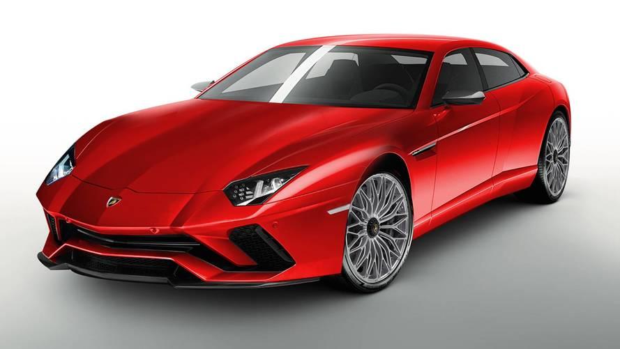 Lamborghini'nin sedan otomobili olsa nasıl olurdu?