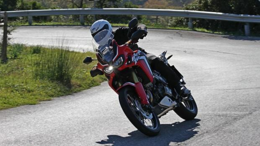 Honda Africa Twin 2016 - TEST