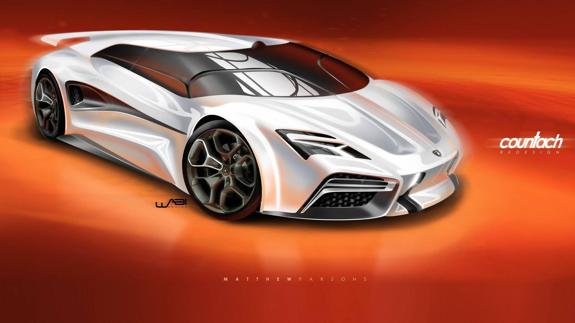 Lamborghini Countach Render Gives The Supercar A Virtual Reboot