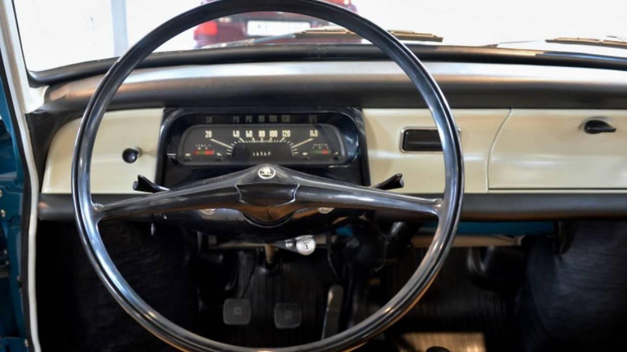 1966 Skoda 1000 MB steering wheel