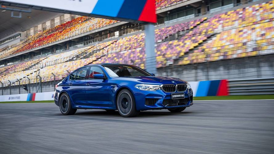 2018 BMW M5 - Shanghai International Circuit