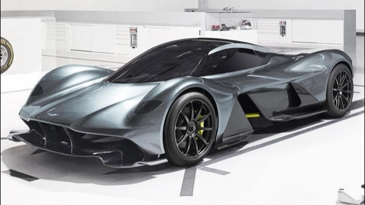 [Copertina] - Aston Martin Red Bull AM-RB 001, vuole essere la più veloce