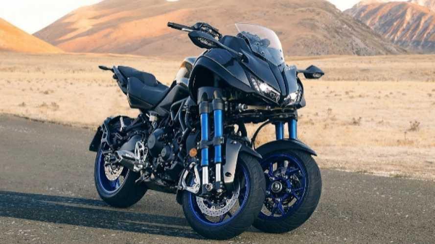 Yamaha Niken: da maggio sarà acquistabile online