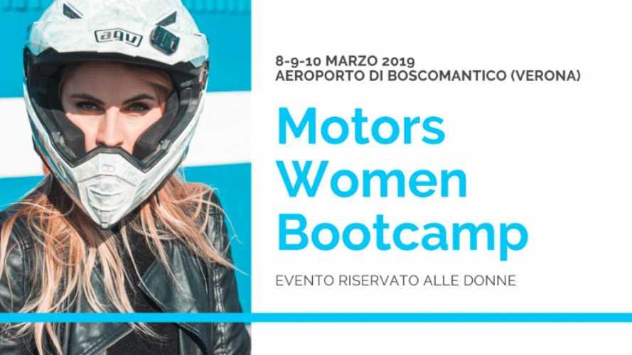 Women Motors Bootcamp: l'evento dedicato alle donne tra moto e aerei