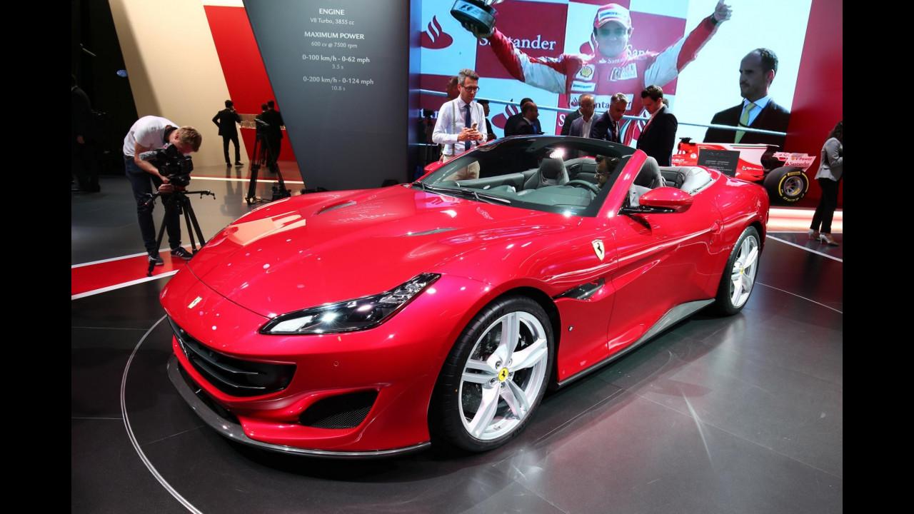 Ferrari al Salone di Francoforte 2017