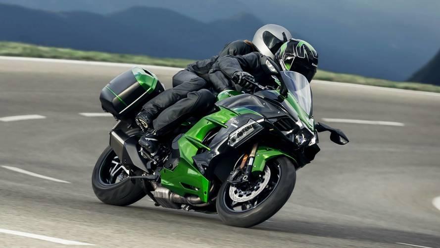 Kawasaki Ninja H2 SX 2018: el poder del turbocompresor, versión 2.0
