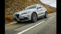 Alfa Romeo Stelvio 2WD con pneumatici invernali Hankook Winter, la prova