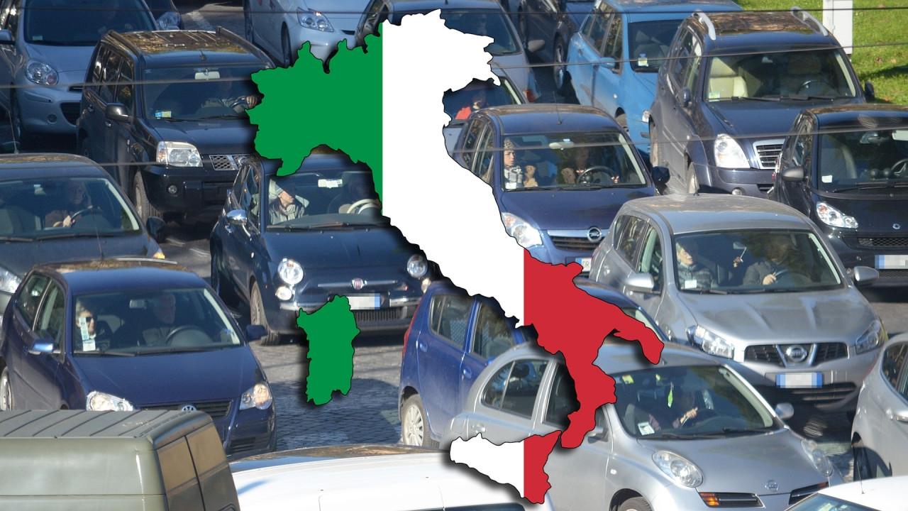 [Copertina] - Densità auto, l'Italia è seconda in Europa