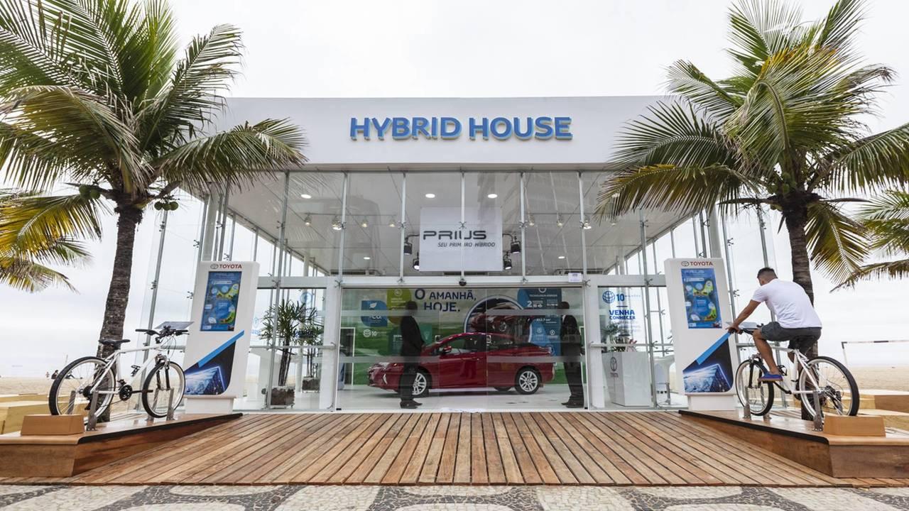 Toyota Hibrid House