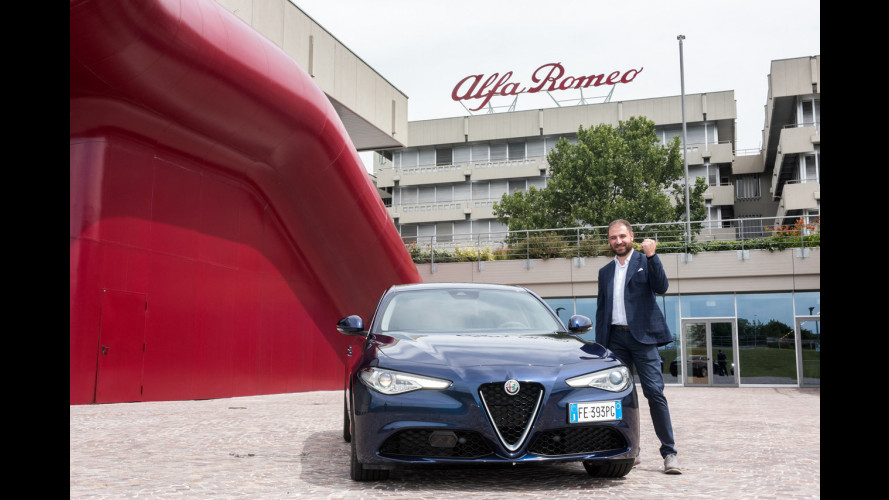 Alfa Romeo Giulia, le prime sono in strada