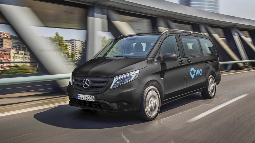 Mercedes investe nel ride-sharing con Via