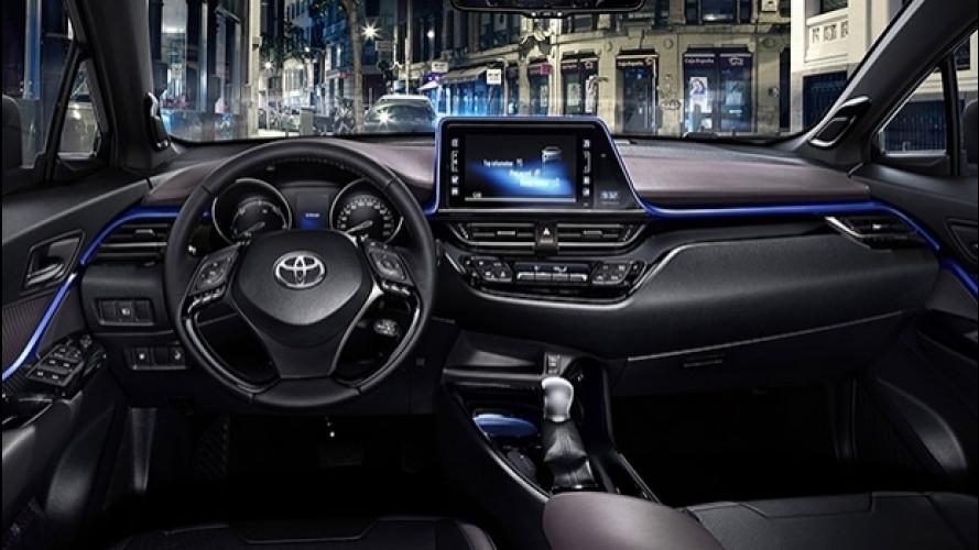 [Copertina] - Toyota C-HR, la rivoluzione degli interni [VIDEO]