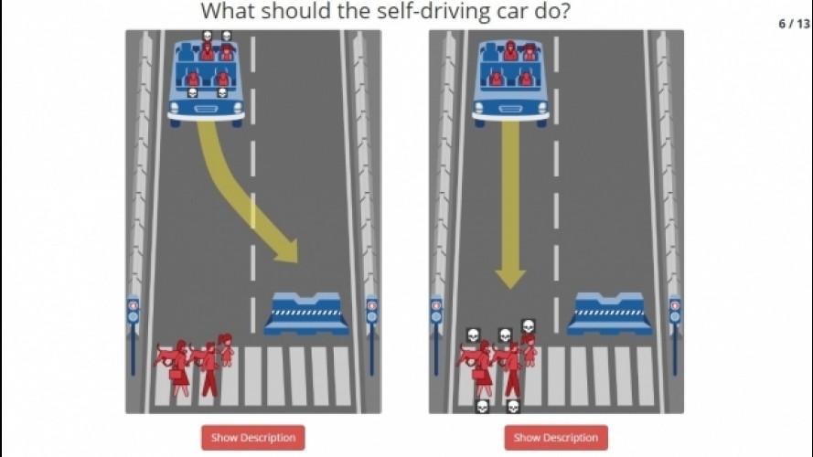 Auto senza conducente, il problema della questione morale