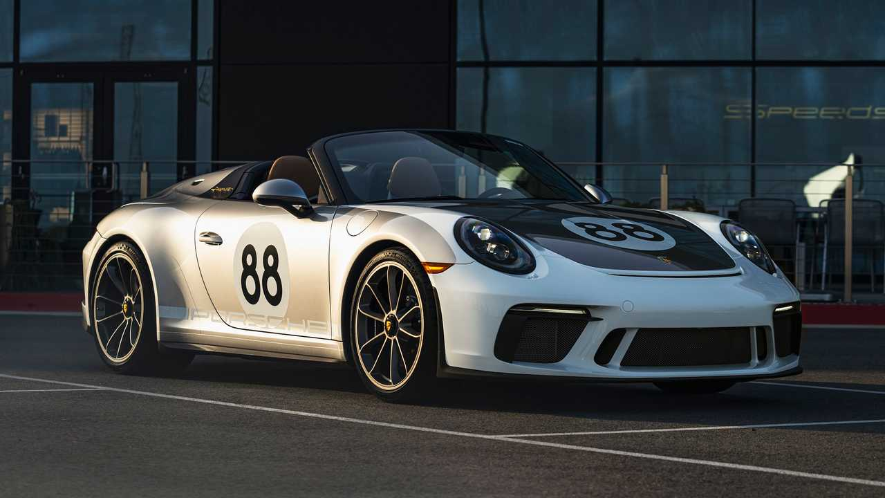 Final 2020 Porsche 911 Speedster
