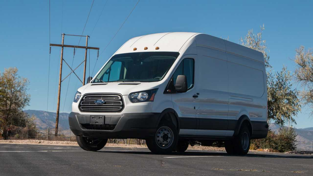 Lightning Electric Ford Transit 350HD cargo van