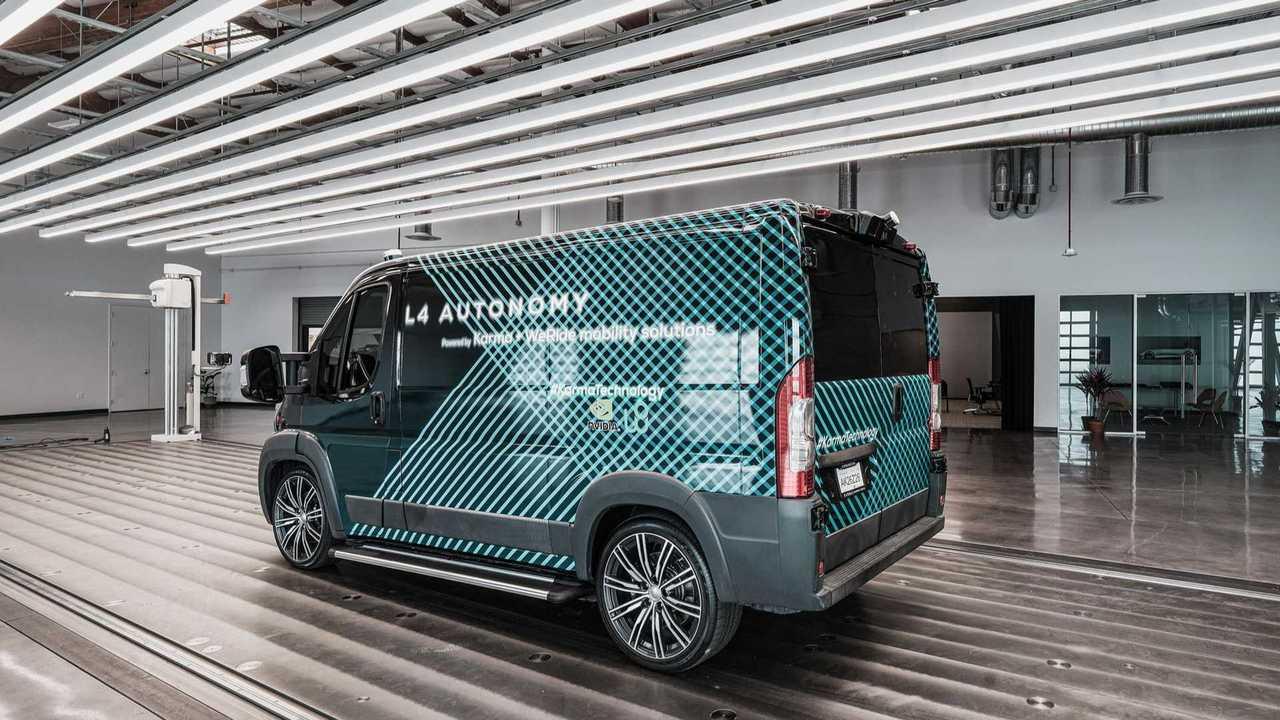 Karma L4 E-Flex Van
