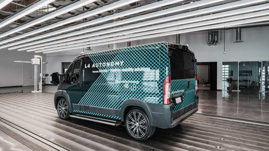 Karma Debuts Level 4 Autonomous All-Electric (E-Flex) Van