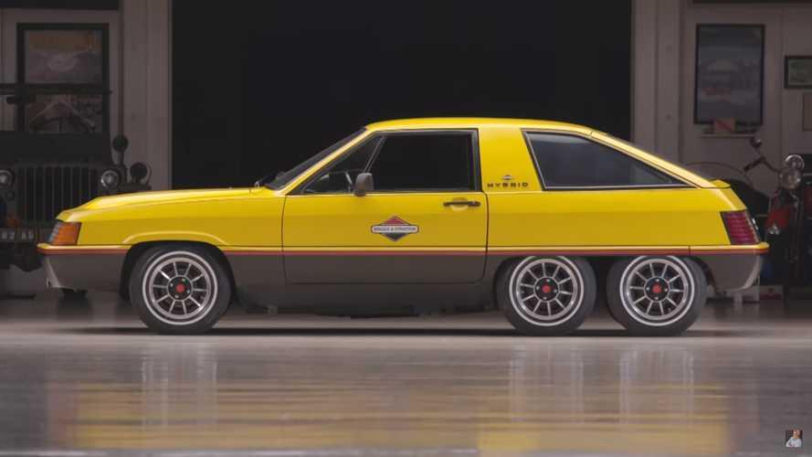Briggs & Stratton Six-Wheel Hybrid Concept von 1980
