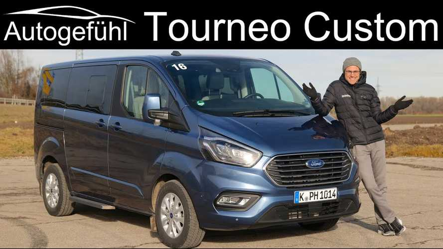 Ford Tourneo Custom Plug-in Hybrid Tested By Autogefühl: Video