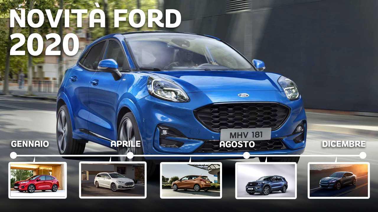 Novità Ford 2020