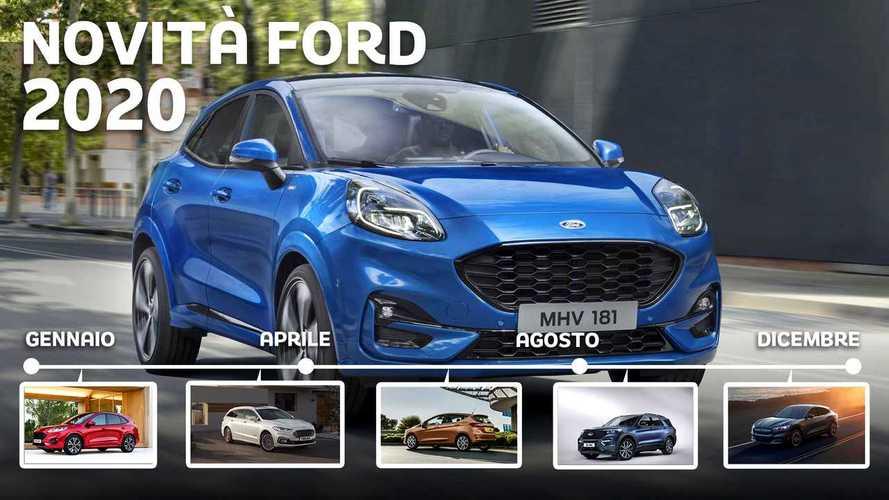 Novità Ford 2020: tutti i modelli in arrivo mese per mese