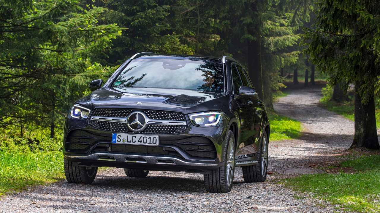 Mercedes GLC: Bis 2.500 Kilo
