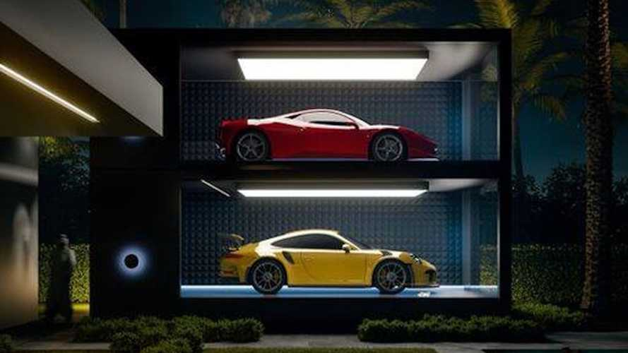 Supercar Capsules are life-size display cases for your exotics