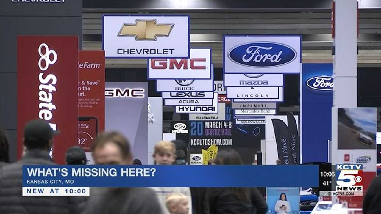 tesla missing at kc auto show