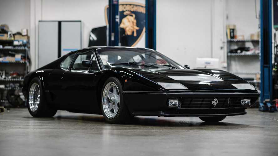 Ebben az elárverezett  1100 lóerős Ferrari 512 BB-ben valaha egy Testarossa motorja volt