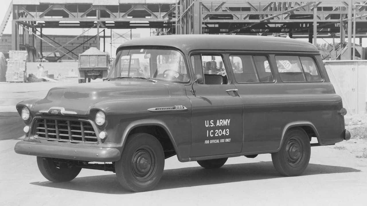 1955-59 Chevrolet Suburban - Generation 4