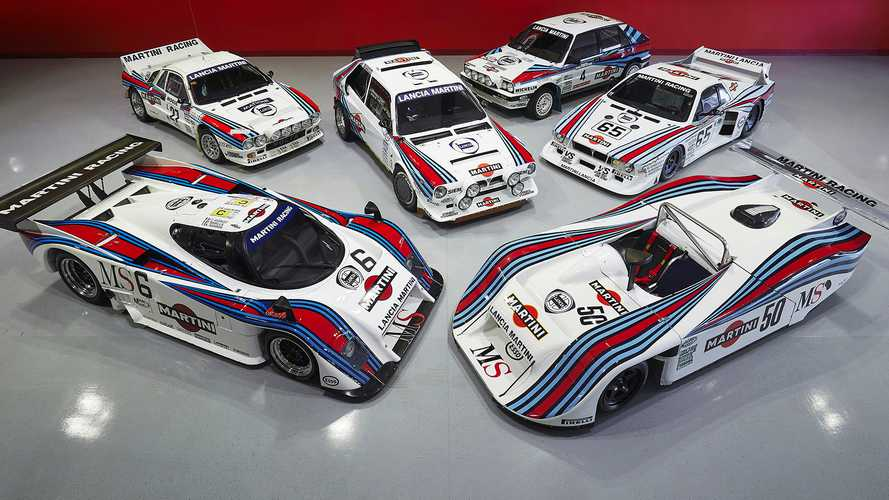 Incredible Collection Of Six Martini-Liveried Lancia Racers For Sale