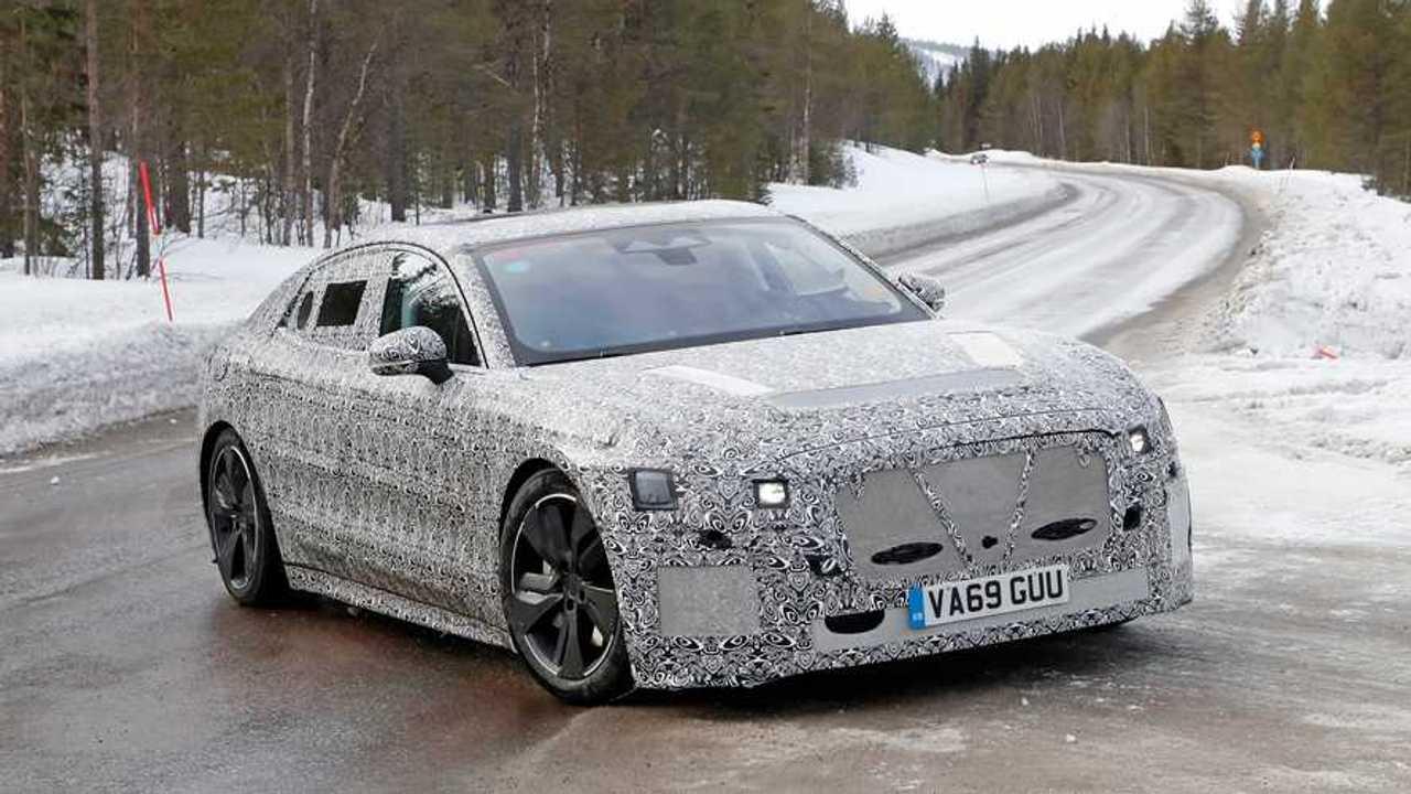 Jaguar XJ Electric Sedan Spy Shots