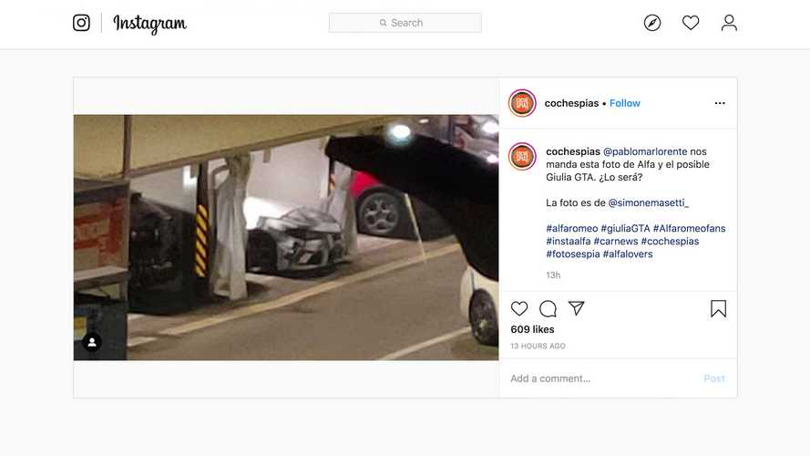 Is This The Alfa Romeo Giulia GTA?